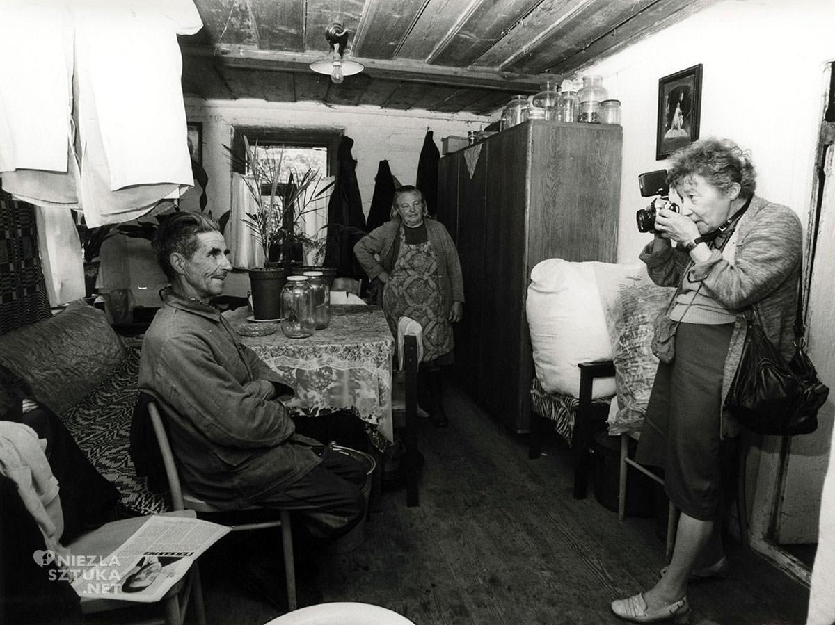 Zofia Rydet, fotografia, autoportret, Niezła Sztuka