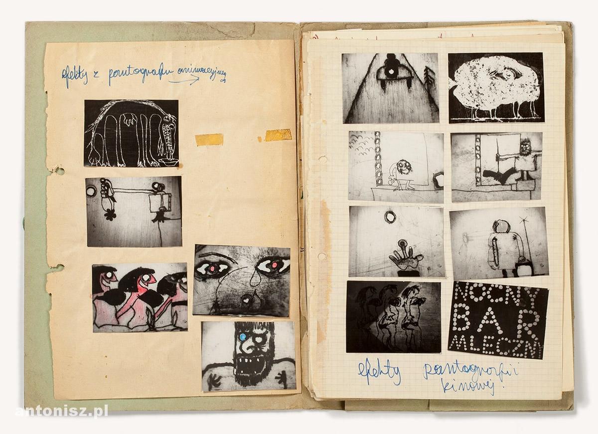 Julian Antonisz, film Fobia, film eksperymentalny, Niezła sztuka