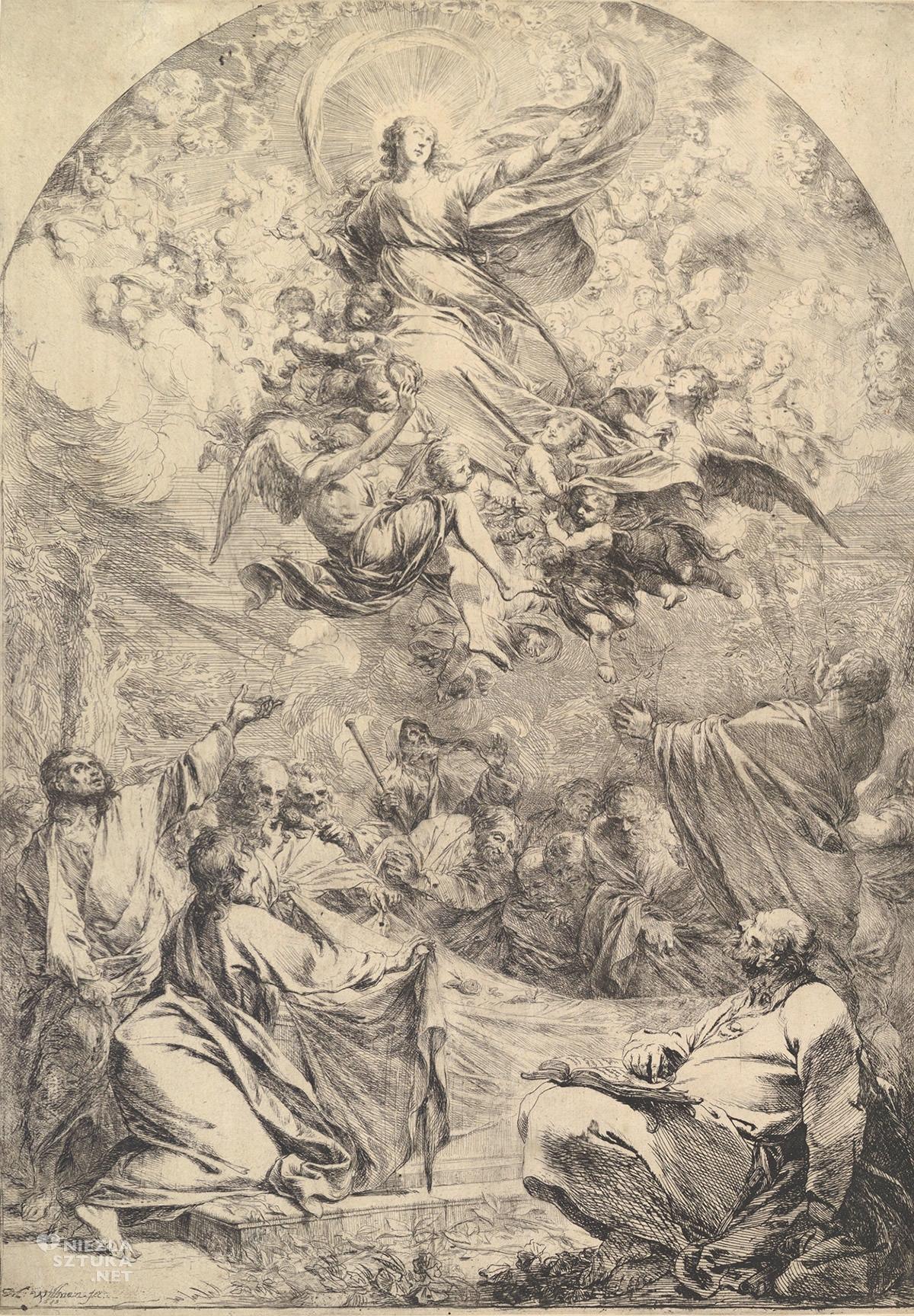 Michael Willmann, Wniebowzięcie Marii, barok, Śląsk, sztuka religijna, Niezła Sztuka