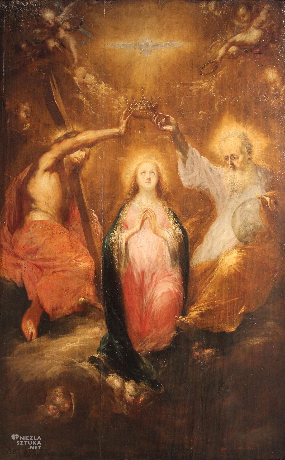 Michael Willmann, malarstwo niemieckie, Koronacja Najświętszej Marii Panny, sztuka niemiecka, Niezła sztuka
