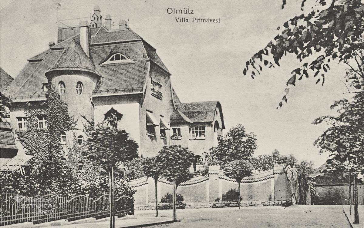 Villa Primavesi, Ołomuniec, Czechy, Niezła Sztuka