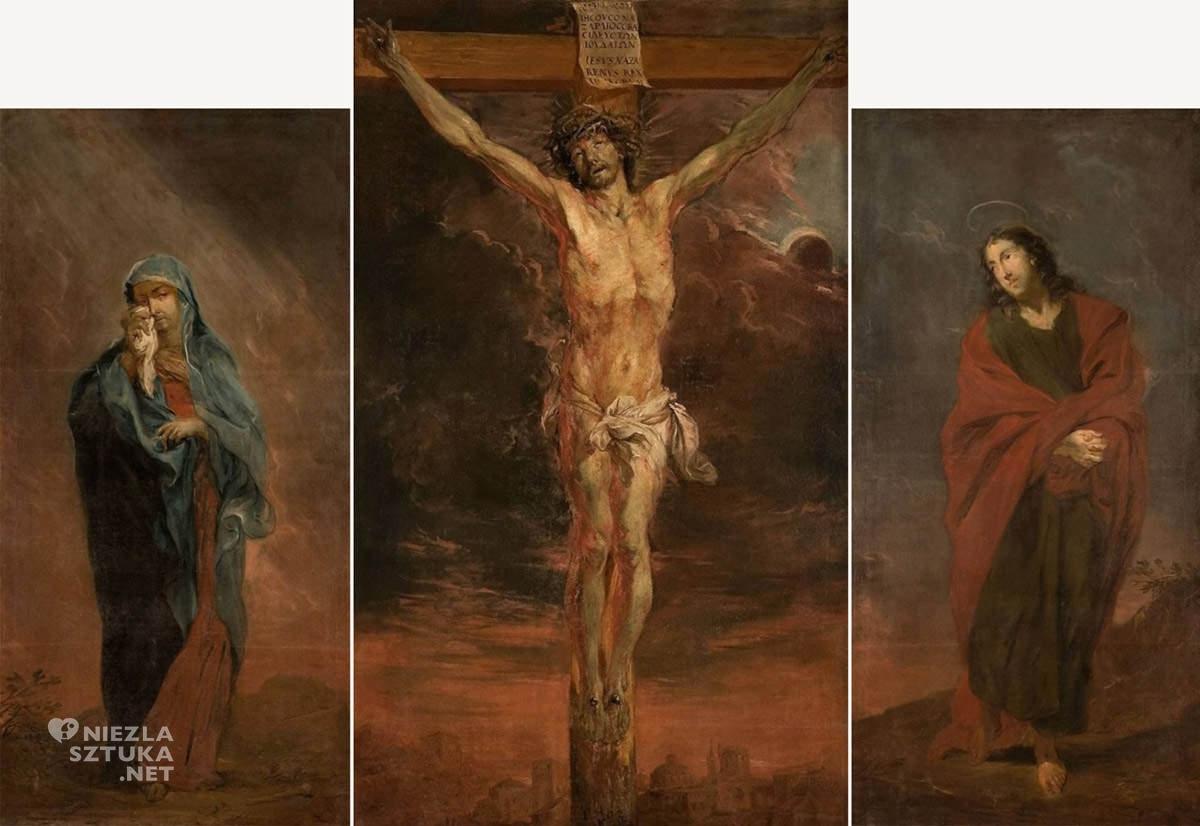 Michael Willmann, malarstwo niemieckie, Ukrzyżowanie, sztuka niemiecka, Niezła sztuka