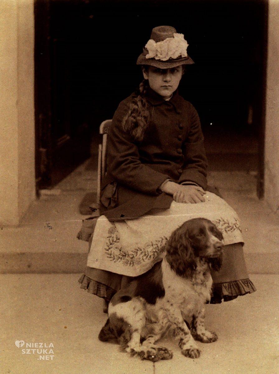 Beatrix Potter, pies, fotografia, ilustratorka, kobiety w sztuce, Anglia, Niezła Sztuka