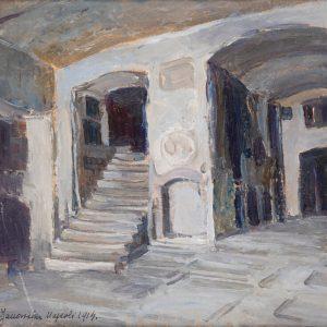 Bronisława Rychter-Janowska, Katakumby w Neapolu, sztuka polska, malarstwo polskie, Włochy, Neapol, kobiety w sztuce, Niezła Sztuka