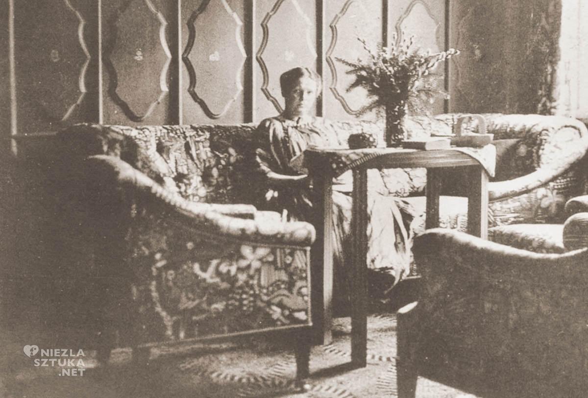 Eugenia Primavesi, Winkelsdorf, wystrój, XX wiek, design, Niezła Sztuka