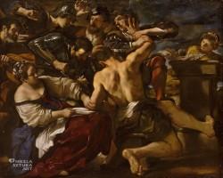 Guercino, Samson pojmany przez Filistynów, sztuka włoska, Niezła Sztuka