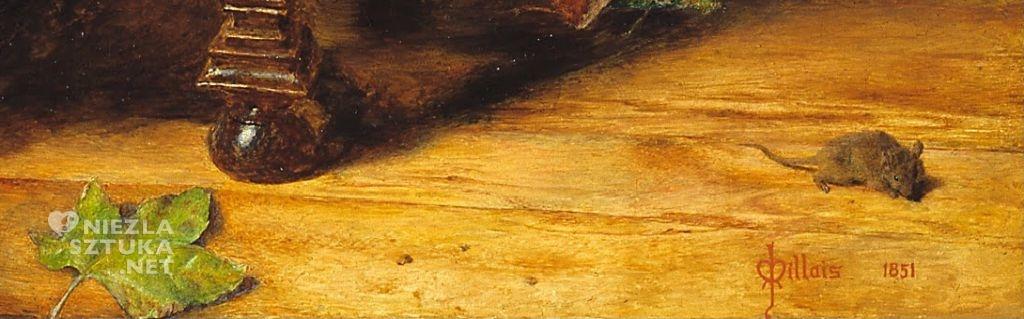 John Everett Millais Mariana, prerafaelici, Niezła sztuka