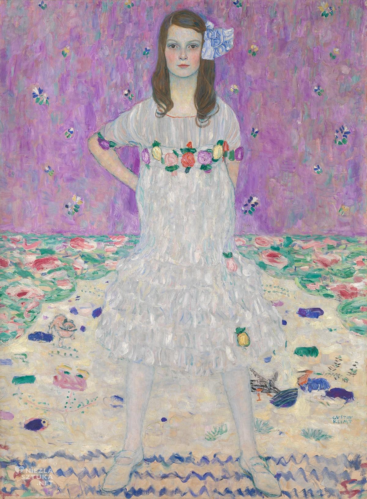 Gustav Klimt, Mäda Primavesi, secesja, sztuka austriacka, Niezła Sztuka
