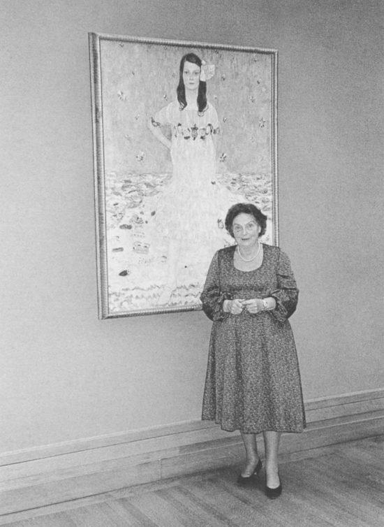 Mäda Primavesi, Eugenia Primavesi, Gustav Klimt, Austria, sztuka austriacka, Metropolitan Museum of Art, Niezła Sztuka