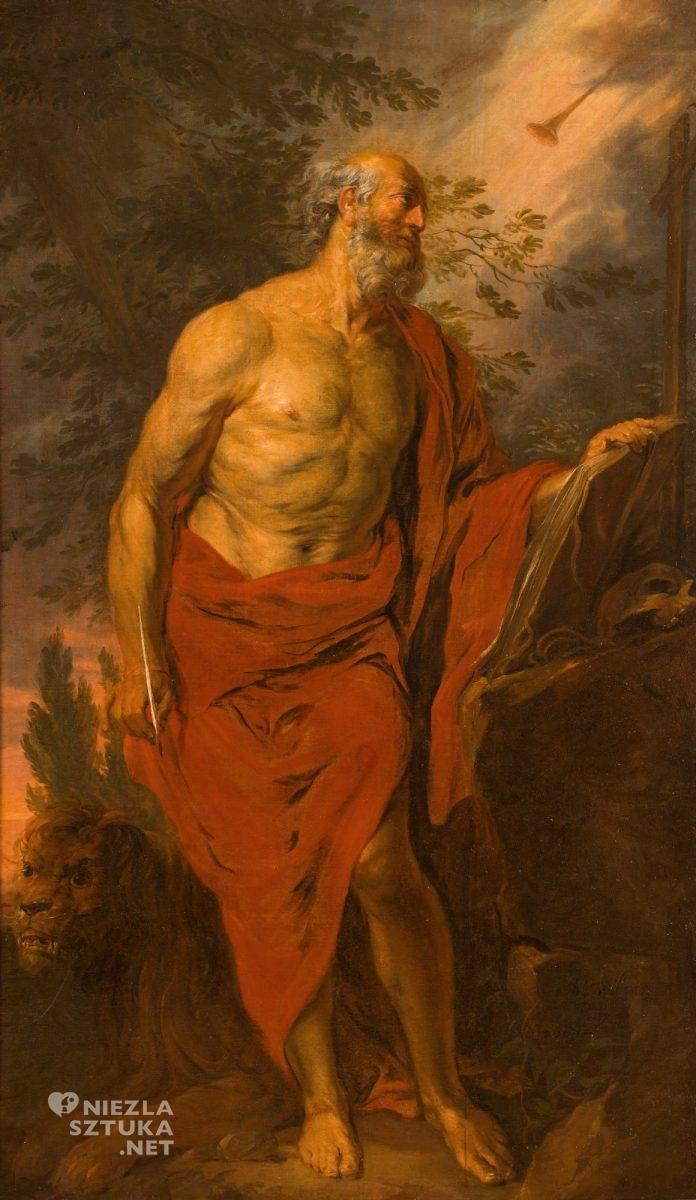 Michael Willmann, Święty Hieronim, barok, Śląsk, Niezła Sztuka
