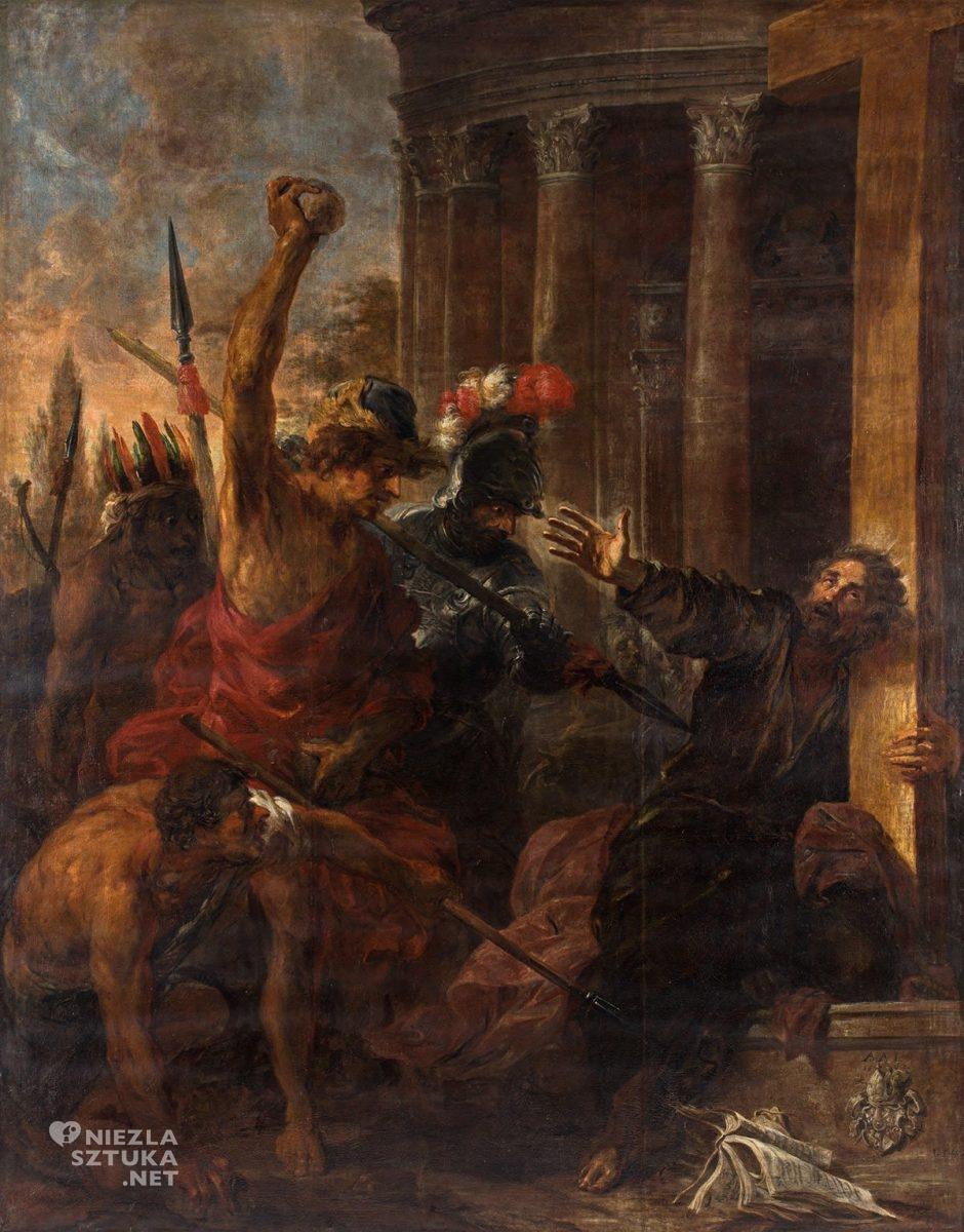 Michael Willmann, Męczeństwo św. Tomasza, barok, Śląsk, malarstwo religijne, Niezła Sztuka