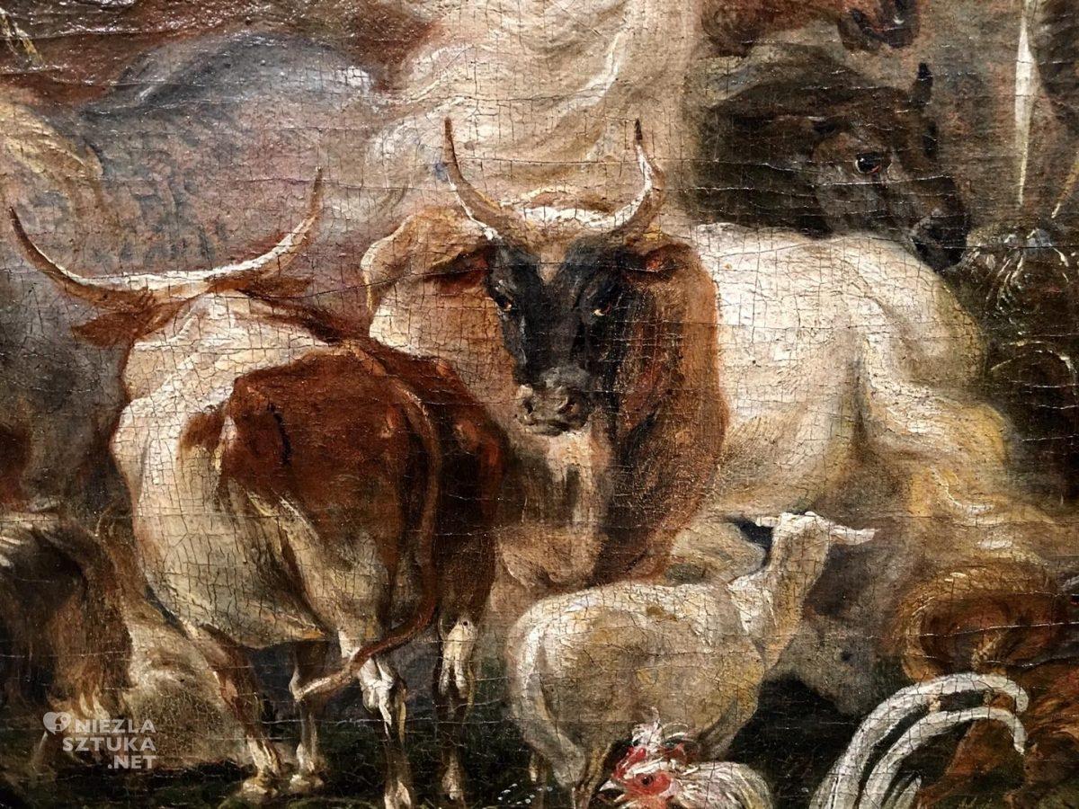 Michael Willmann, malarstwo niemieckie, Sześć dni stworzenia, stworzenie świata, sztuka niemiecka, Niezła sztuka
