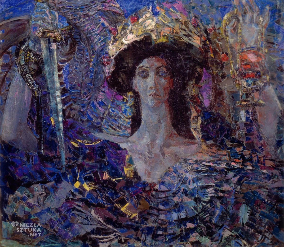 Michaił Wrubel, Serafin o sześciu skrzydłach, sztuka rosyjska, Niezła Sztuk