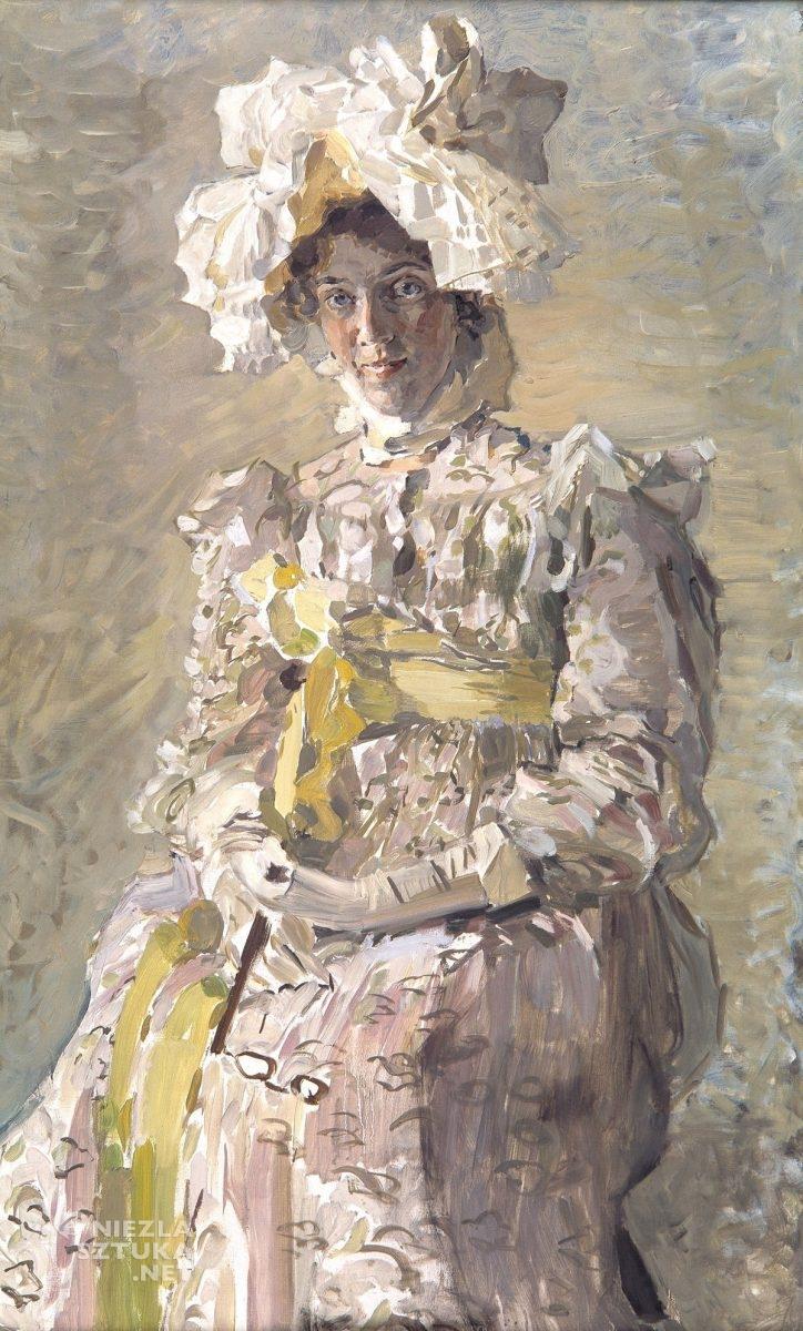 Michaił Wrubel, Portret N.I. Wrubel, sztuka rosyjska, Niezła Sztuka