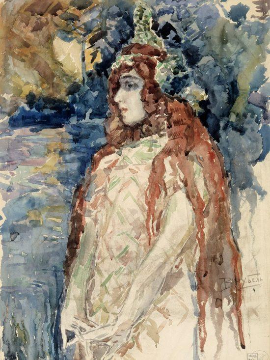 Michaił Wrubel, Księżniczka morza, sztuka rosyjska. Niezła Sztuka