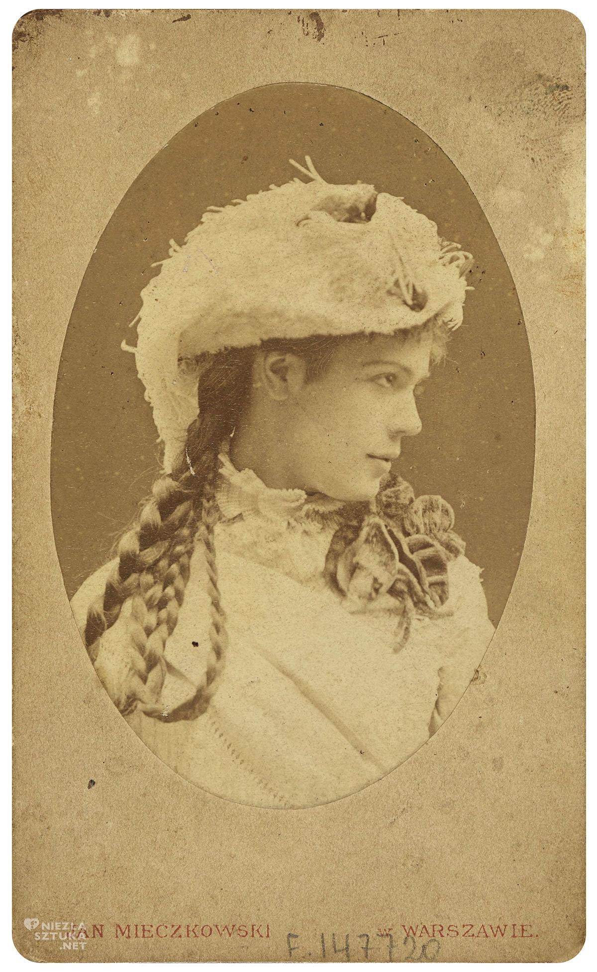 Jan Mieczkowski, Portret Heleny Marcello, fotografia, Niezła Sztuka