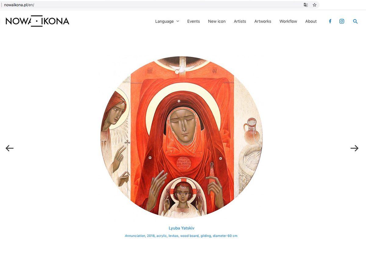 ikony, ikona, nowaikona.pl, galeria bohema, kultura w sieci, niezła sztuka