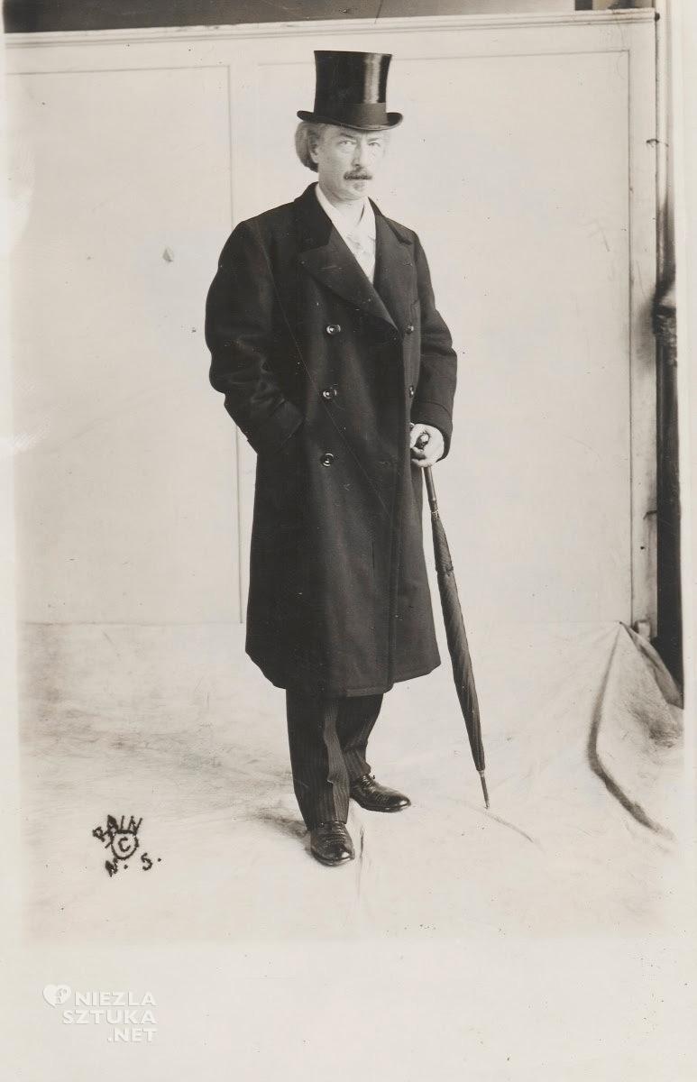 Ignacy Jan Paderewski, fotografia, portret, muzyk, Nowy Jork, sztuka polska, Niezła Sztuka