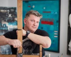 Piotr Czajkowski malarstwo grafika, wywiad z malarzem, Niezła Sztuka