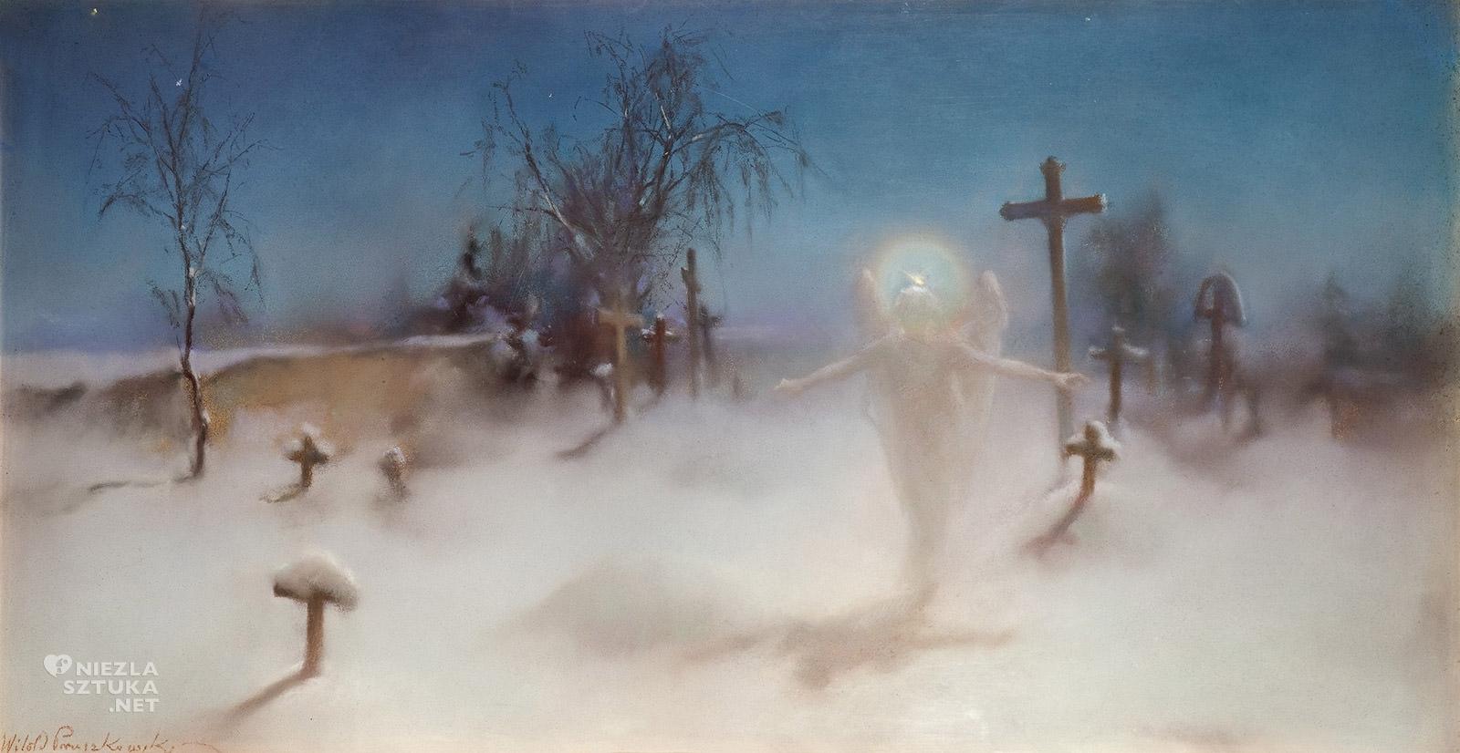 Witold Pruszkowski, Eloe, malarstwo polskie, sztuka polska, Muzeum Narodowe we Wrocławiu, Niezła Sztuka