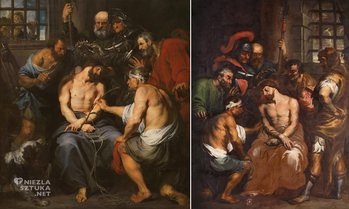 Antoon van Dyck, Michael Willmann, Cierniem koronowanie, sztuka niemiecka, Niezła sztuka