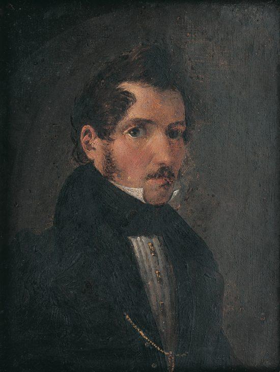 Aleksander Sleńdziński, Autoportret, niezła sztuka