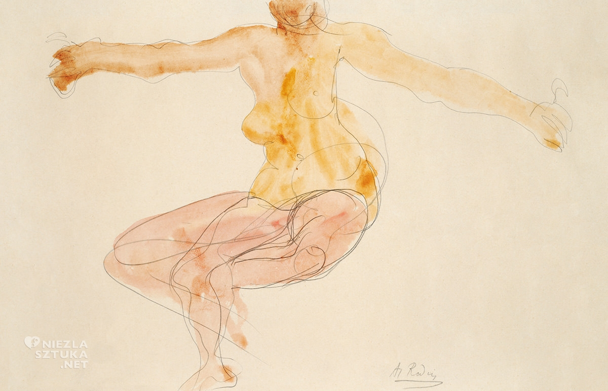 Auguste Rodin, akt kobiety, Niezła sztuka