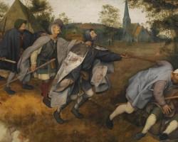 Pieter Bruegel, Ślepcy, malarstwo niderlandzkie, Niezła Sztuka