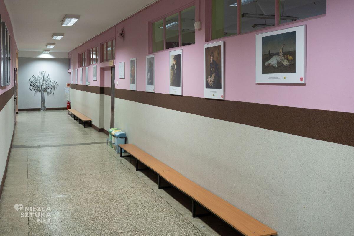 II Liceum Ogólnokształcące im. Gabriela Narutowicza w Łodzi, Muzeum w Liceum, Niezła sztuka