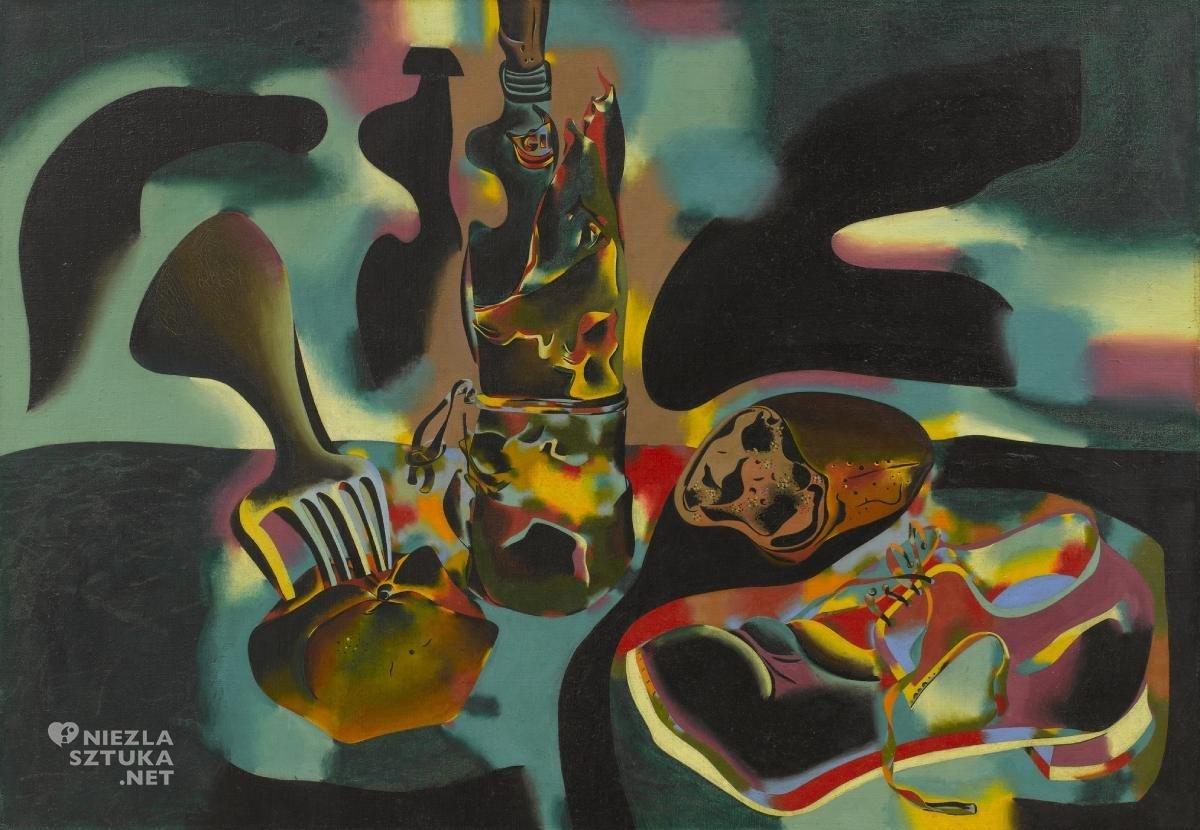 Joan Miró, Martwa natura ze starym butem, sztuka współczesna, sztuka hiszpańska, sztuka katalońska, Niezła Sztuka
