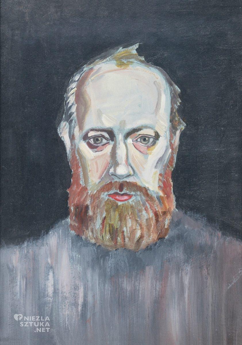 Józef Sowada, Autoportret trumienny, sztuka współczesna, sztuka polska, Niezła Sztuka