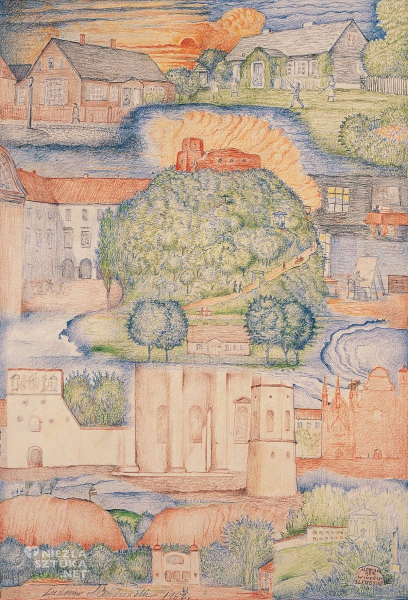 Ludomir Sleńdziński, Mój pamiętnik, Petersburg, niezła sztuka