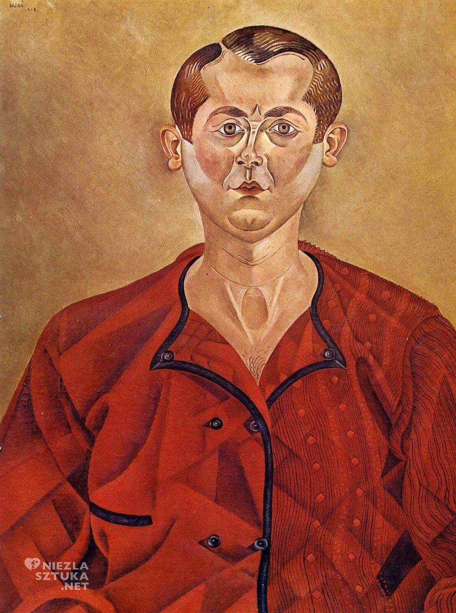 Joan Miró, Autoportret, sztuka hiszpańska, sztuka katalońska, sztuka współczesna, Niezła Sztuka