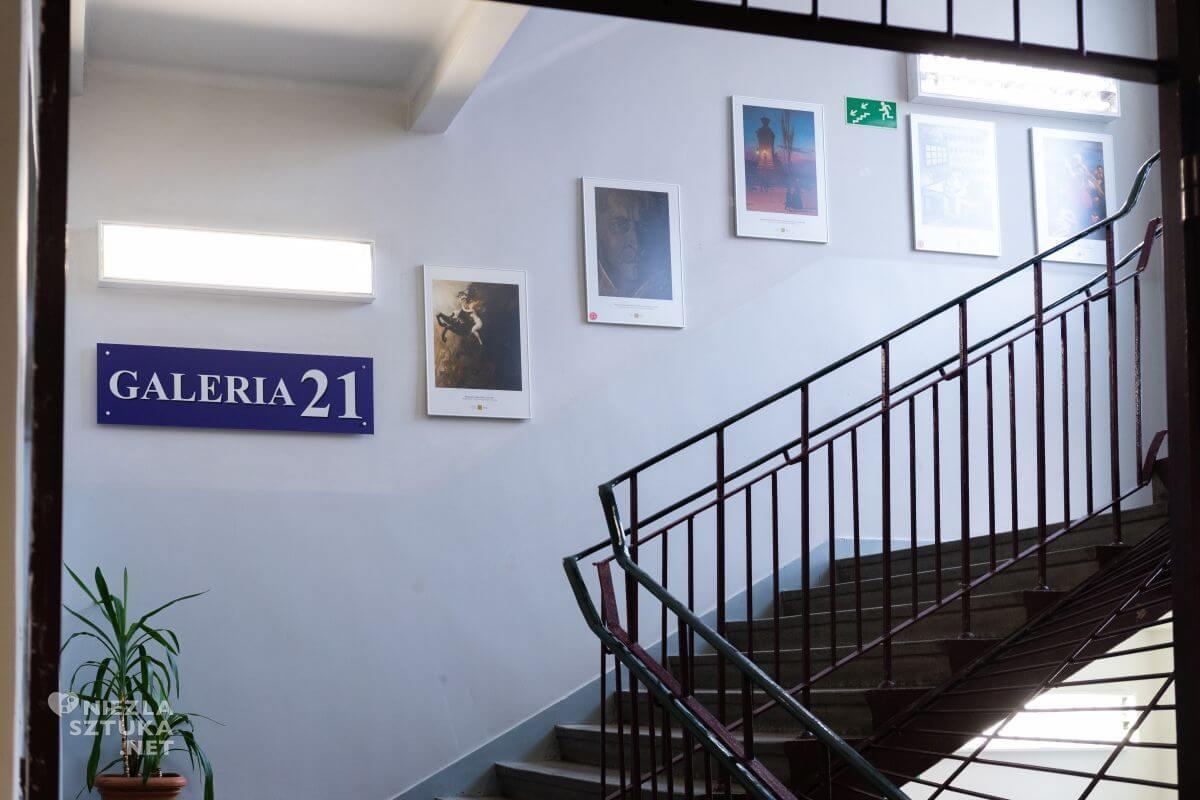XXI Liceum Ogólnokształcące im. Bolesława Prusa w Łodzi, Muzeum w Liceum, Niezła sztuka
