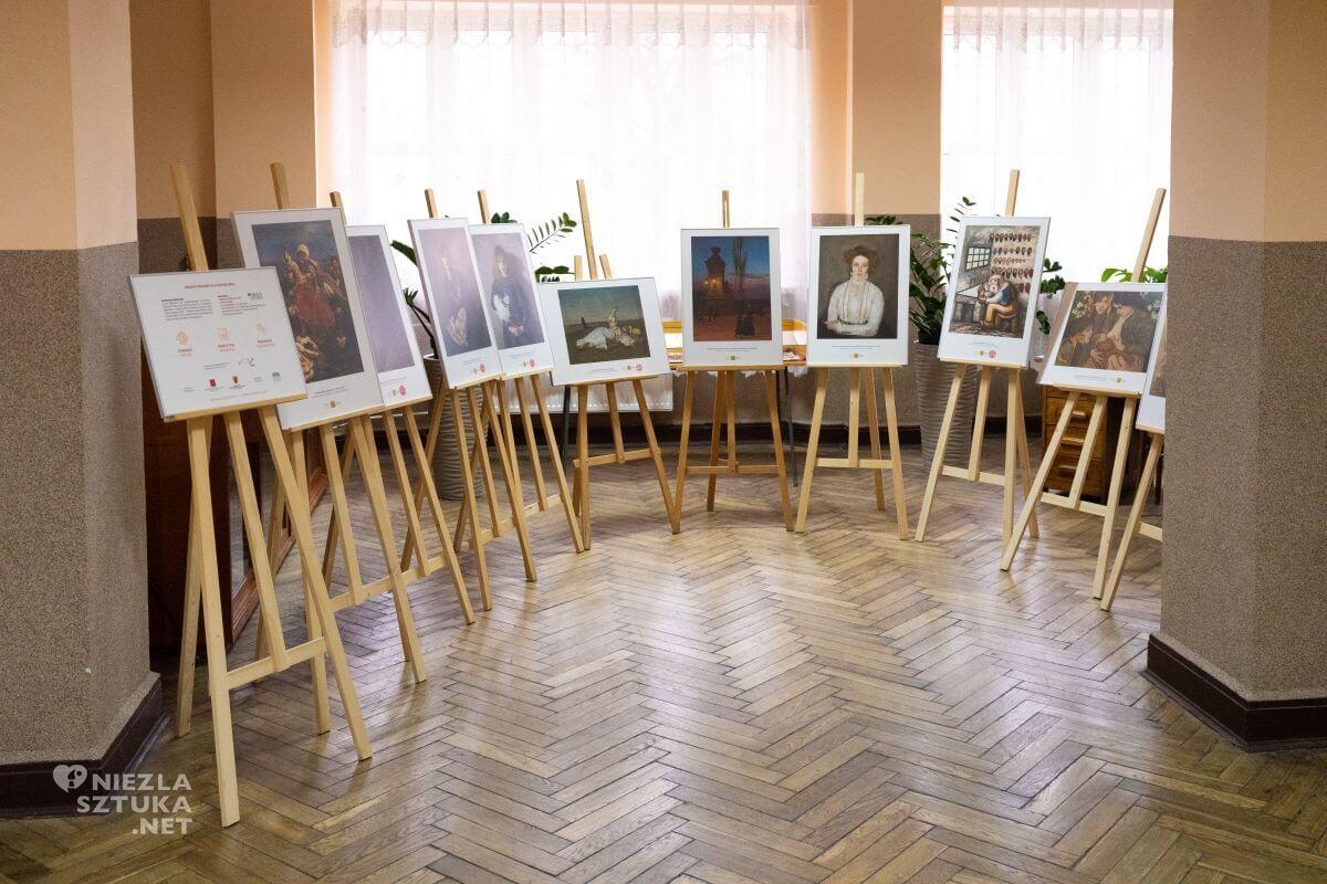 XXVI Liceum Ogólnokształcące im. K. K. Baczyńskiego w Łodzi, Muzeum w Liceum, Niezła sztuka