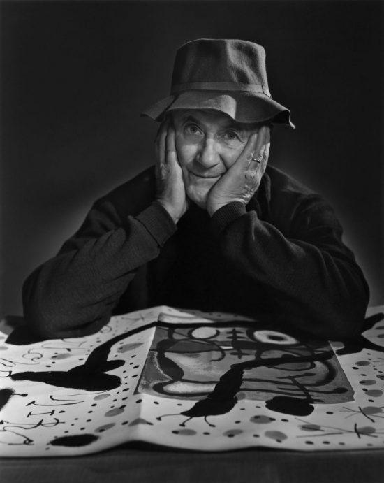 Yousuf Karsh, fotografia, Joan Miró, artysta, malarz, sztuka hiszpańska, sztuka katalońska, sztuka współczesna, Niezła Sztuka