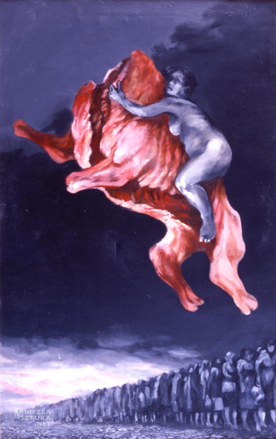 Zbylut Grzywacz, Szał (według Podkowińskiego), Szał uniesień, sztuka polska, sztuka współczesna, interferencje w sztuce, Niezła Sztuka