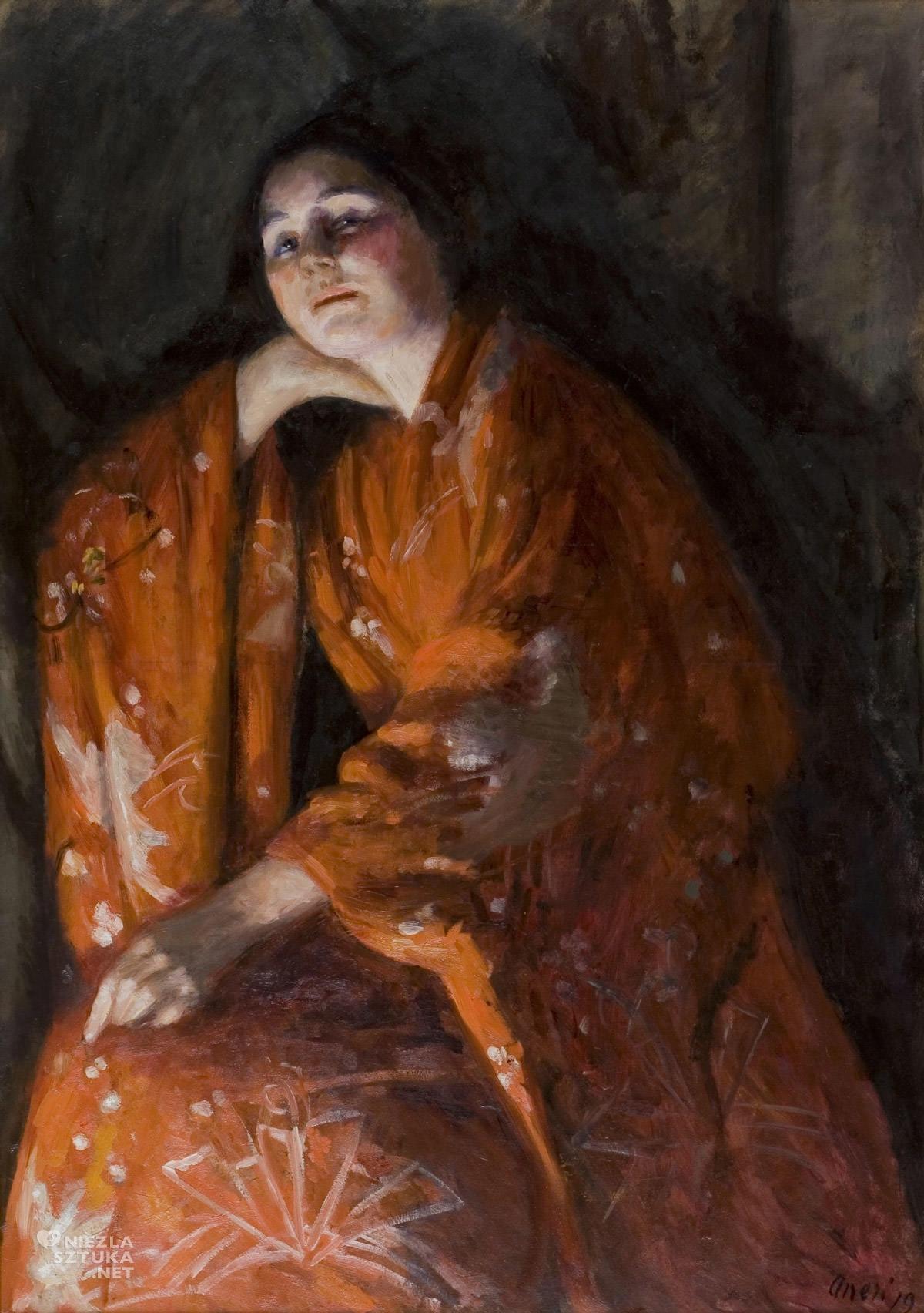 Irena Weiss, Aneri, Japonka, sztuka polska, kobiety w sztuce, Niezła Sztuka