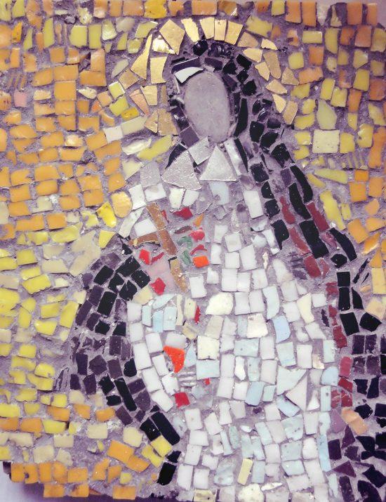 Irena Weiss, Aneri, Święta Teresa, mozaika, święci w sztuce, sztuka polska, Niezła Sztuka