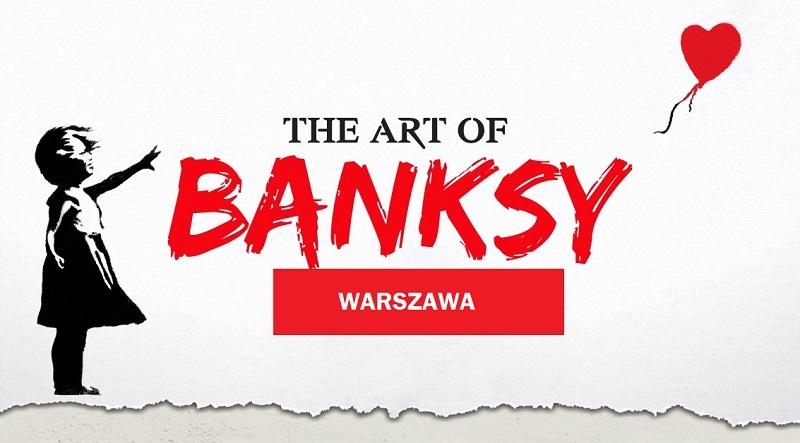 banksy, wystawa, warszawa, niezła sztuka