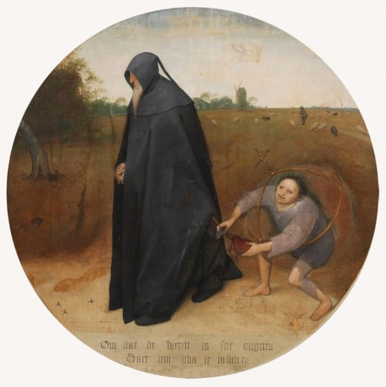 Pieter Bruegel, Mizantrop, sztuka niderlandzka, malarstw niderlandzkie, Niezła Sztuka
