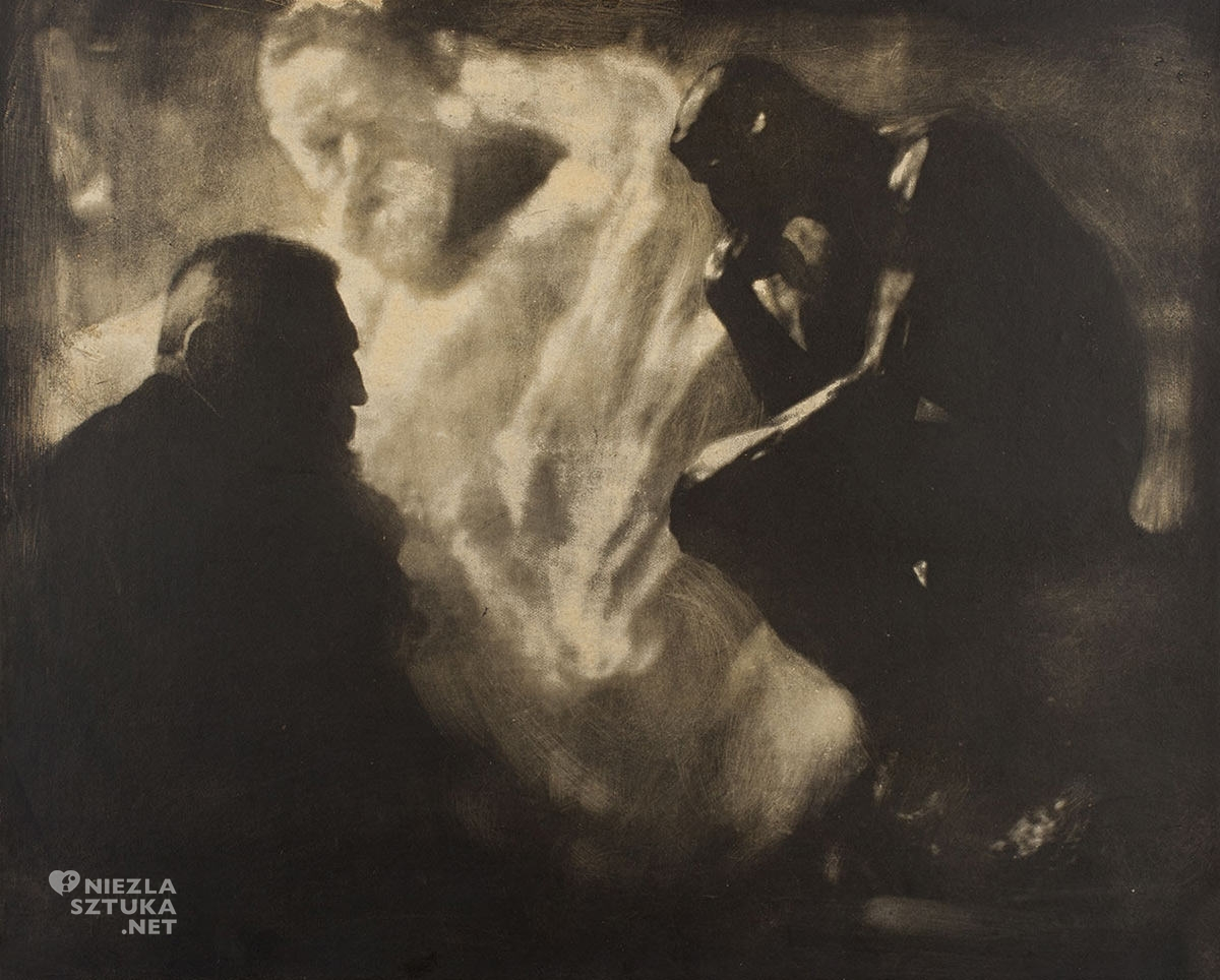 Edward Steichen, Auguste Rodin, Myśliciel, rzeźba, Niezła sztuka