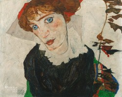 Wally Neuzil, Egon Schiele, Niezła sztuka