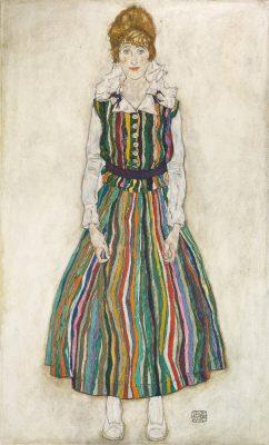 Edith Schiele, Portret żony, Edith, Niezła sztuka