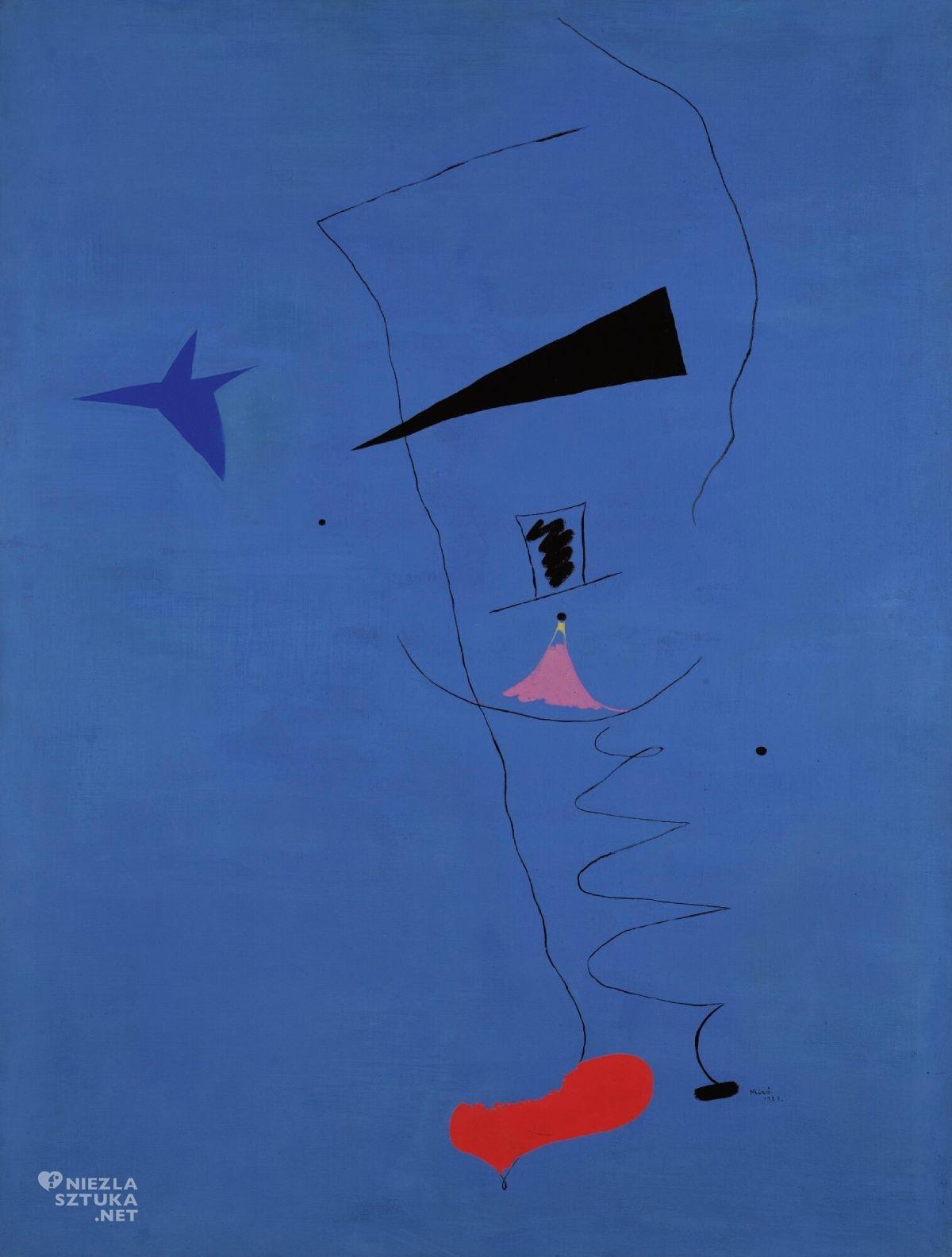 Joan Miró, L'Etoile Bleue, sztuka współczesna, Niezła Sztuka