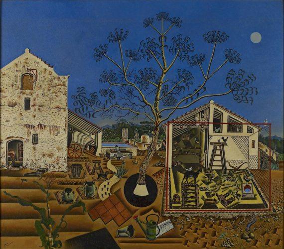 Joan Miró, Farma, stuka współczesna, sztuka hiszpańska, sztuka katalońska, Niezła Sztuka