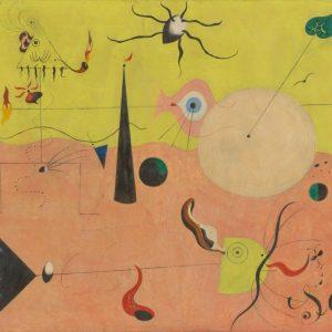 Joan Miró, Myśliwy, sztuka współczesna, sztuka hiszpańska, sztuka katalońska, Niezła Sztuka