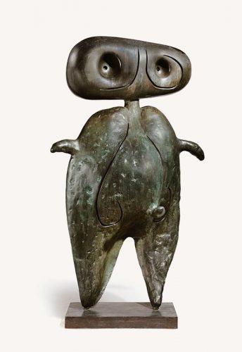 Joan Miró, Personnage, sztuka współczesna, rzeźba, Niezła Sztuka