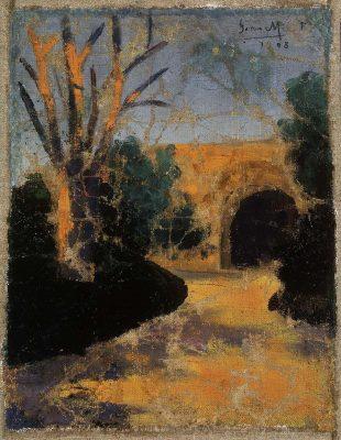 Joan Miró, pierwszy olejny obraz, sztuka hiszpańska, Niezła Sztuka