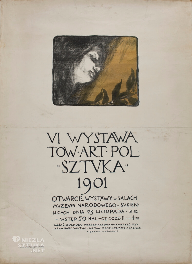 Józef Czajkowski, plakat, wystawa, sztuka polska, Niezła sztuka